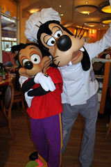 Chef Goofy and son his Max