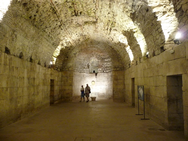 The basement of Diocletian's Palace