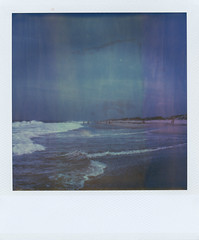 (jeffreywithtwof's) Tags: ocean nyc film beach 2004 jeff analog polaroid sx70 1 sand waves tide atlantic instant alpha hutton farrockaway timezero forttilden jeffhutton integralfilm jeffhuttonphotography jeffreyhutton