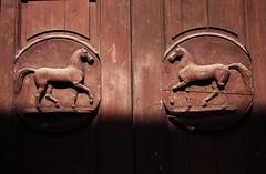 Cavallerizza Reale (Choco Bebs) Tags: door red horse torino piemonte savoia cavallerizzareale