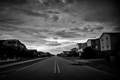 End of the Asphalt (ScottJphoto) Tags: beach vanishingpoint nc holden holdenbeach