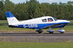 G-GBRB (QSY on-route) Tags: club aero lincon sturgate egcs ggbrb 04062011