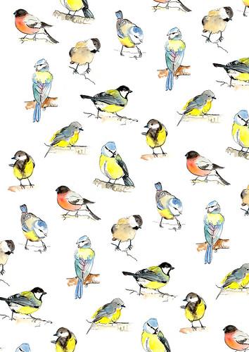 birdspattern by jina11
