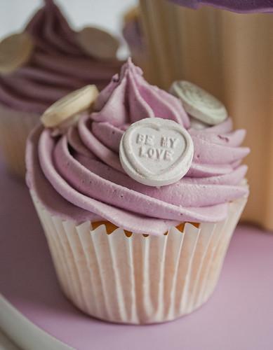 Love Hearts Cupcake