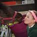 Kiss the donkey!