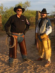 COWBOY GEAR (AZ CHAPS) Tags: ranch spurs cowboy boots wranglers rope gloves corral chinks