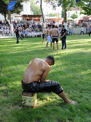 Geting ready..... (d.mavro) Tags: shirtless beautiful sport greek big fighter nipples body masculine muscle muscular wrestling chest traditional butt north handsome hunk sensual arena greece strong torso wrestler biceps albanian hombre yunan hommes turk homme bulge arnavut serres jeune grecoroman muchacho pehlivan yal gre athlet leathe nigrita