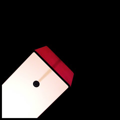 light red black lamp rouge noir sonyericsson explore... (Photo: zecaruso on Flickr)