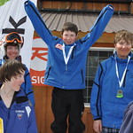 Podium shots from the Mt Washington Teck Zone Finals - April 14-15 2012