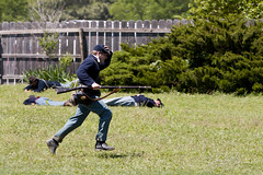 I'm outta Here! (Turbobuddha) Tags: army war union battle confederate civil kansas wichita cowtown
