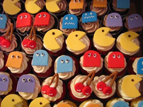 Pac Man cupcakes!