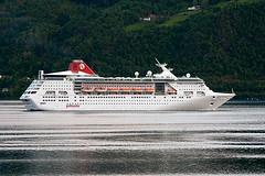 Empress (Askjell's Photo) Tags: cruise norway canon photo flickr ship image picture malta empress volda valletta newmindspace throughtheviewfinder pullmanturcruises voldsfjord askjell