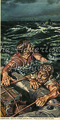 30559507 (The Advertising Archives) Tags: vintage illustrations womens retro story posters british magazines emergency shipwrecks johnbull disasters emergencies rescues advertisingarchives magazineartwork theadvertisingarchives