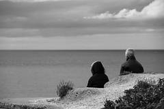 IMG_86493bw (Ian-GreenPhotography.com) Tags: sea people blackandwhite bw blackwhite sand norfolk pebbles weybourne northnorfolk weybournebeach
