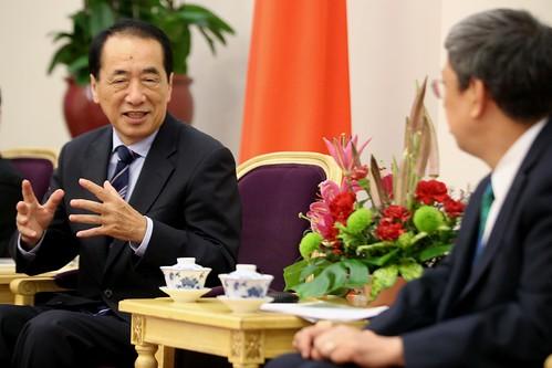 09.23 總統接見「日本前首相菅直人眾議員」
