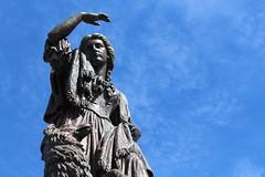 Flora MacDonald statue (normapassarell) Tags: scotland inverness uk invernesscastle greatbritain britishisles unitedkingdom floramacdonald statues britishislands jacobite jacobitism