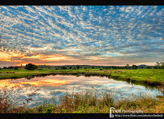 Sky & clouds (bnilesh) Tags: sky india reflection water clouds landscape colorful indore
