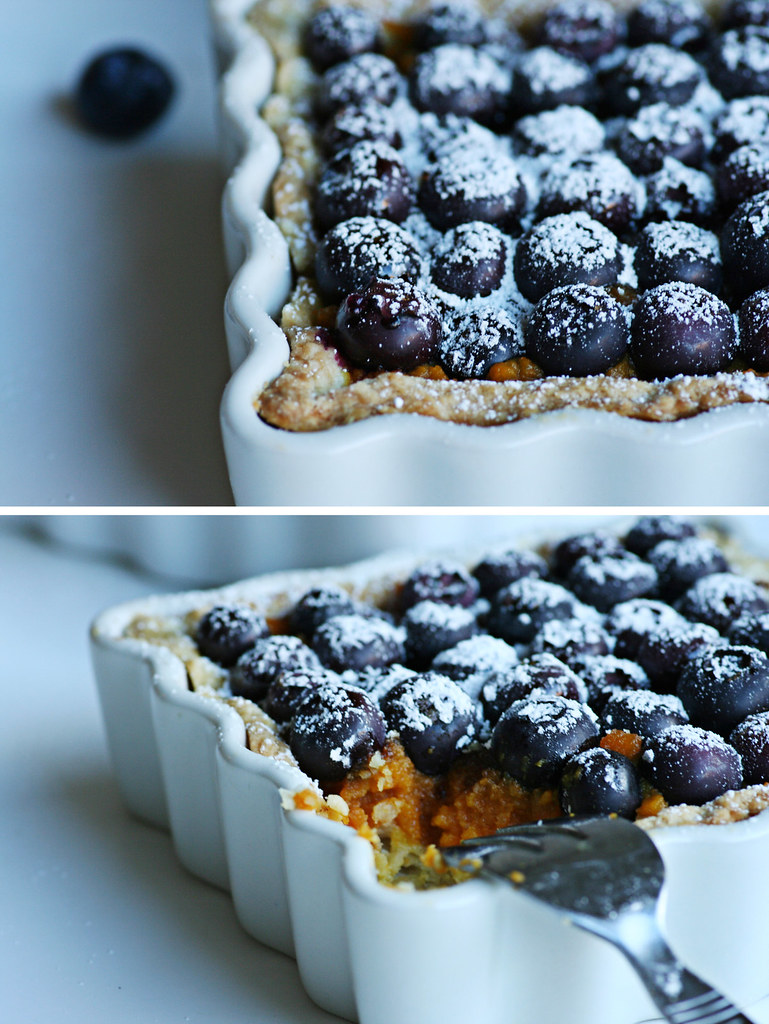 blueberry pumpkin pie