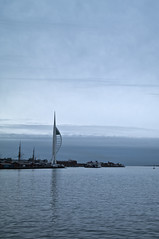Harbour view of Spinnaker Tower - Copyright R.Weal 2010