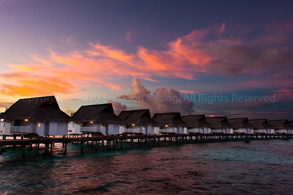 Luxury SunSet Water Villa @ Centara Grand Island Resort & Spa Maldives