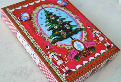 Christmas card boxes