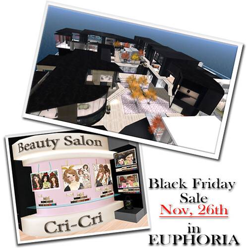 Black Friday Sale in EUPHORIA
