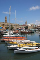 Akko, Harbour (blauepics) Tags: world city houses sea heritage water architecture clouds boats israel site meer wasser harbour palestine ships wolken images boote unesco east stadt getty architektur historical middle hafen osten palstina schiffe crusaders acre weltkulturerbe huser historisch kreuzritter mittlerer