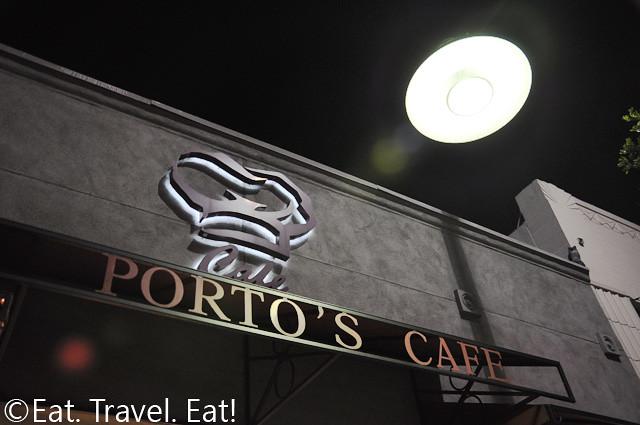 Porto's Cafe Glendale Exterior