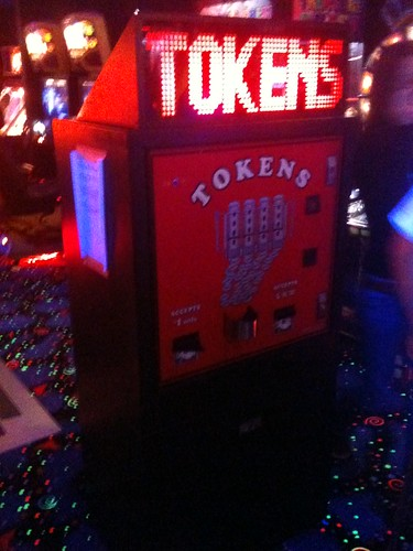 tokens sign on change machine