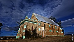 THE CHURCH - DALGETY NSW AUSTRALIA (smortaus) Tags: old morning storm color history church weather clouds rural landscape country australian sigma australia wideangle nsw outback dslr 142 dalgety sandstonebuilding australianimages a350 sigma1020mmlens someofmybestwork thisisaustralia australianphotos sonya350 142mp photoslandscapes photodanny imagesofaustralia dannyhayes mygearandme sigmawideanglelense imageaustralian hayesa350dslrdigital imagesony landscapesofnsw sigma1020mmf456exdxlense coolunusualwallpapersforwindows helloworldthisisaustralia 10mmto20mm