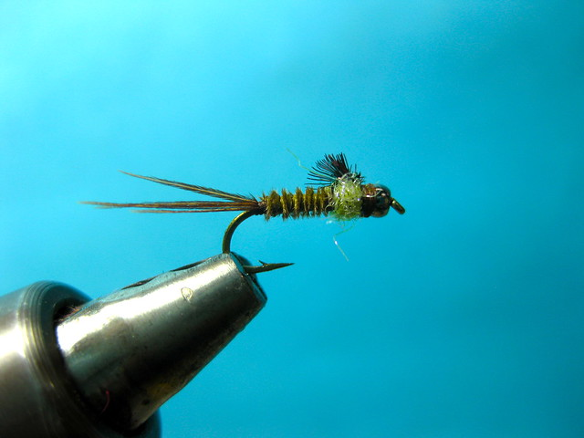 UV Ice Dub Blue Winged Olive Nymph Fly Tying Video | The