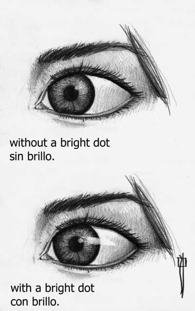 brillo en los ojos