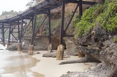 Catherine Hill Bay (Cassy72) Tags: beach sand rust rocks oldbridge catho catherinehillbay cassandravirgona
