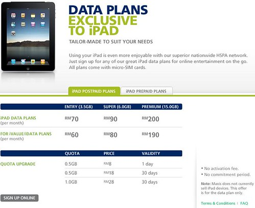 5218927921 4e1ceeffd3 Maxis Unveil Data Plan for iPad