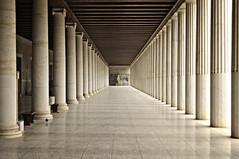 Athena  -  Stoa of Attalos ( Ogawasan) Tags: greek ngc athens greece illusion mind proportion psyche  grce ogawasan