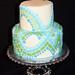 Mosaic Tiled Cake