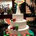 Las Vegas stacked chips cake