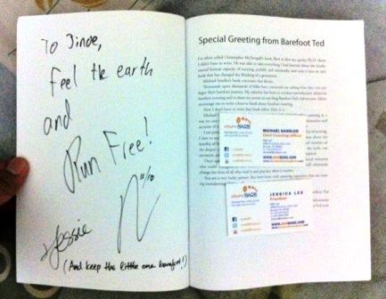 Book Signing:  Barefoot Running