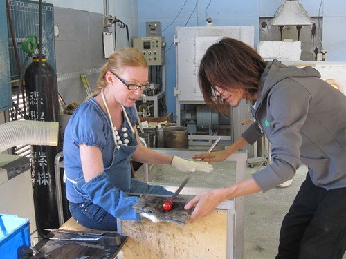 glass blowing schools. Glass blowing experience