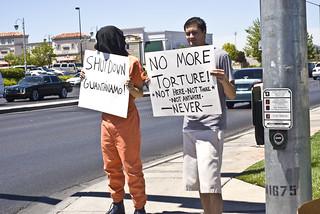 Anti-Torture Vigil - Week 16