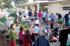 Memorial Day BBQ at Hiker Heaven
