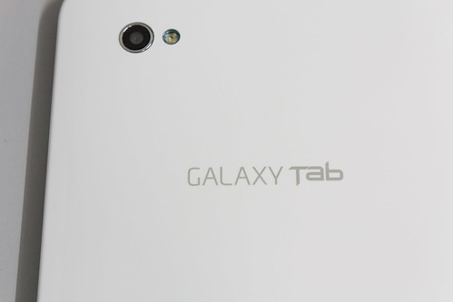 Samsung Galaxy Tab - camera