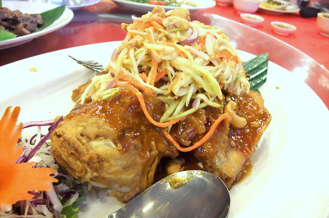 Deep Fried Fish with Sweet and Sour Sauce