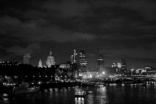 City from Waterloo Bridge