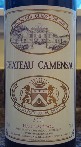 2001 Chateau Camensac