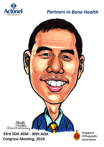 Caricatures for Sanofi-Aventis - 5