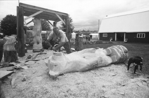 Chainsaw Carving, Vermont State Fair 2010