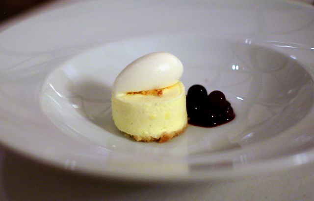 8th Course - Lemon Cheesecake