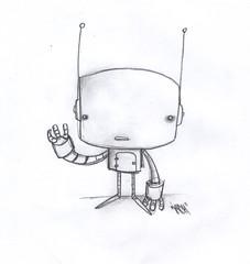 Little droid ([rich]) Tags: cute pencil sketch doodle droid robotnation