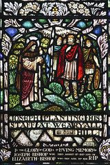 Joseph of Arimathea plants the Glastonbury Thorn